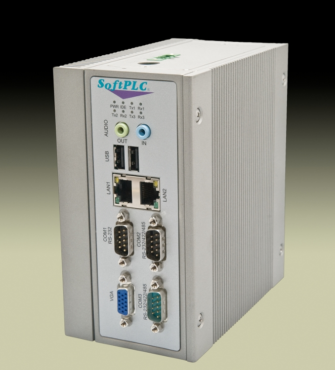 HB2MILEH Hardbook SoftPLC front view