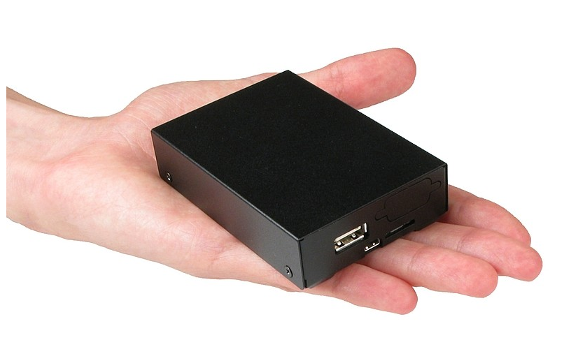 Micro SoftPLC in enclosure